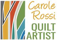 Carole Rossi quilter logo